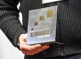 """RiceHouse vince il premio speciale dell'Agenzia CasaClima """"Startup award 2018"""""""
