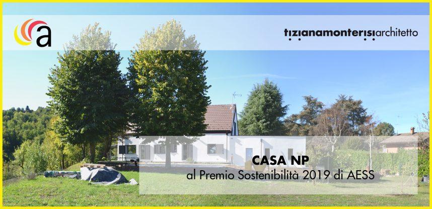 Il progetto CASA NP candidato al Premio Sostenibilità 2019 di AESS