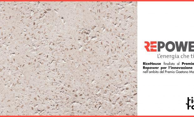 Ricehouse finalista della 2° Edizione Premio Speciale Repower per l'innovazione