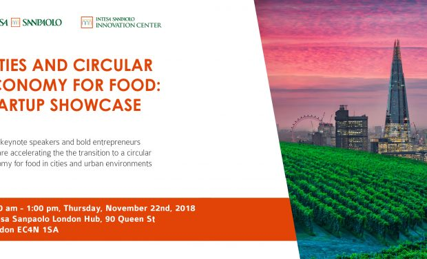 CITIES AND CIRCULAR ECONOMY FOR FOOD: STARTUP SHOWCASE