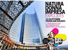 """Natura Donna Impresa: in piazza Gae Aulenti l'installazione """"La casa è la tua terza pelle"""""""