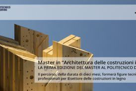 Master di Architettura delle Costruzioni in Legno